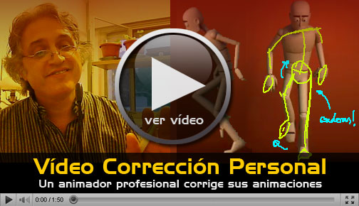 Vídeo correccion personal en AnimationGym